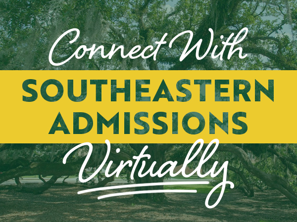 Admissions Live, Connect Virtually