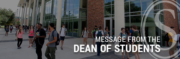 Message from the Dean of Students